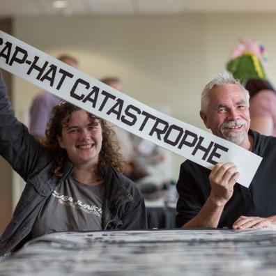 Cap-Hat Catastrophe